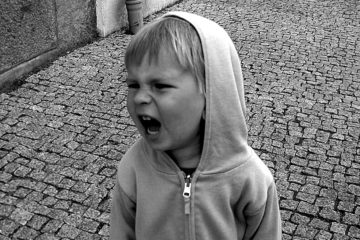 child yelling (children issues)
