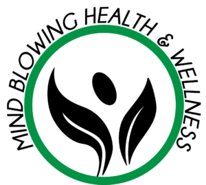 Mind Blowing Health and Wellness Logo